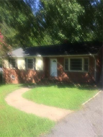 Chester Single Family Home For Sale: 4358 Jalee Drive