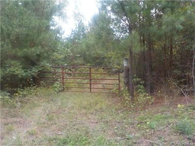 Amelia County Residential Lots & Land For Sale: Poor House