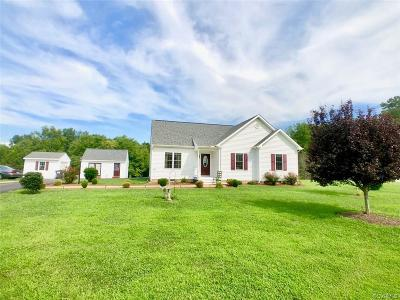 Powhatan Single Family Home For Sale: 540 Clayville Road