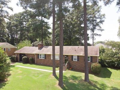 Midlothian Single Family Home For Sale: 3340 Clintwood Road