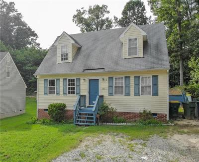 Hopewell Single Family Home For Sale: 2306 Dellrose Drive