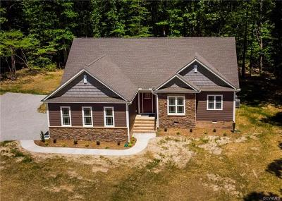 Powhatan County Single Family Home For Sale: 1425 Schroeder Road