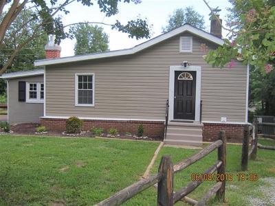 Powhatan Single Family Home For Sale