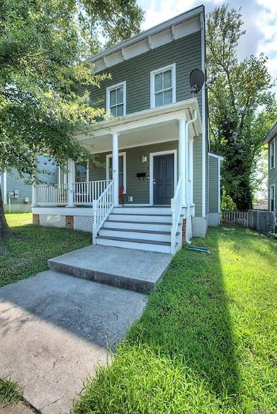 Richmond Single Family Home For Sale: 1308 Decatur Street