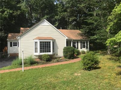 Henrico Single Family Home For Sale: 10300 Tingewood Terrace