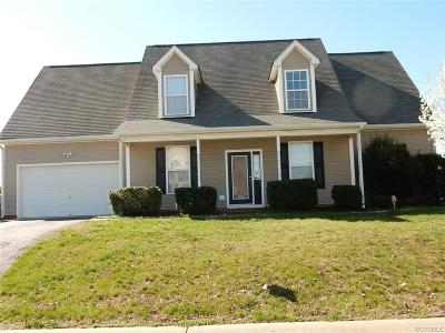 Hopewell Single Family Home For Sale: 3810 Yorktown Drive