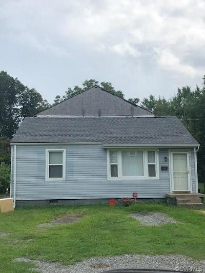 Henrico Single Family Home For Sale: 2319 Burnley Avenue