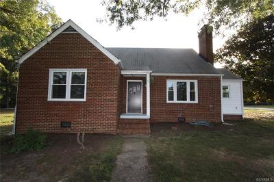 Chesterfield Single Family Home For Sale: 14500 Rivermont Road