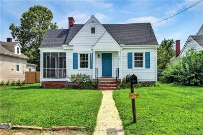 Henrico Single Family Home For Sale: 2111 Maplewood Road
