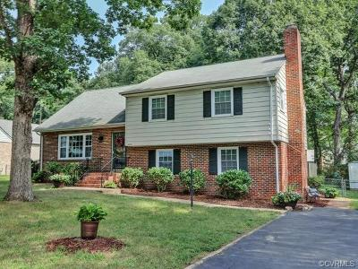 Henrico Single Family Home For Sale: 8002 Moorefield Road