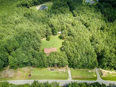 Dinwiddie County Single Family Home For Sale: 10123 Courthouse Road