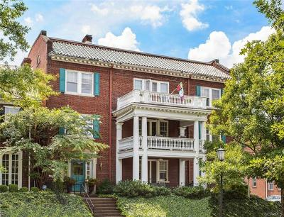 Richmond Condo/Townhouse For Sale: 2923 Monument Avenue #2