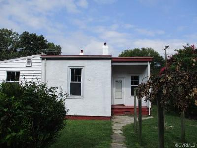 Richmond Single Family Home For Sale: 1503 Rogers Street