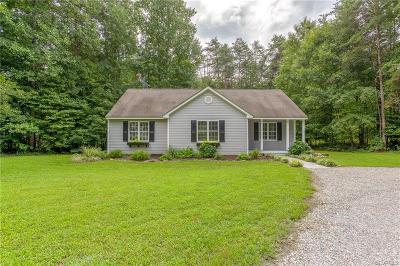 Powhatan Single Family Home For Sale: 6707 Clark Road