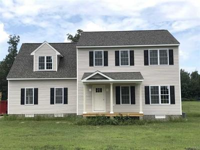 New Kent Single Family Home For Sale: Tba Davis Glade