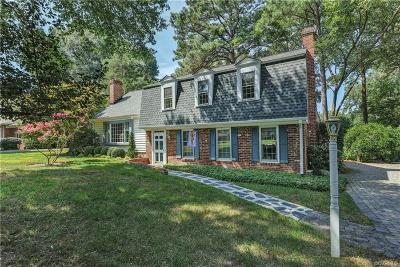 Henrico Single Family Home For Sale: 1510 Pump Road