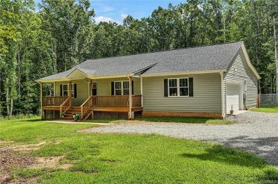 Powhatan County Single Family Home For Sale: 2710 Ballsville Road