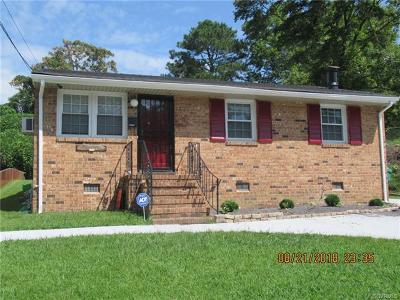 South Chesterfield Single Family Home For Sale: 3606 Main Street