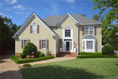 Henrico Single Family Home For Sale: 12504 Hardings Trace Place
