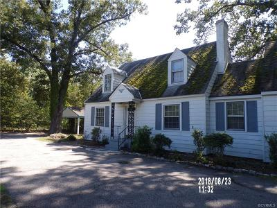Chesterfield County Rental For Rent: 7911 Iron Bridge Road