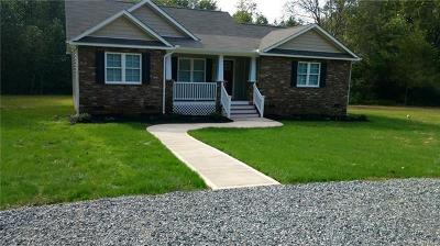 Powhatan County Single Family Home For Sale: 4761 Bell Road