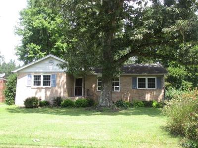 Chester Single Family Home For Sale: 4030 Treely Road