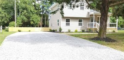 Dinwiddie Single Family Home For Sale: 3909 Elsie Drive