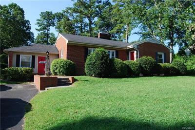 Henrico Single Family Home For Sale: 8603 Julian Road