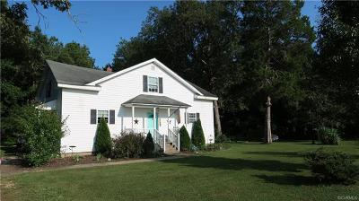 Charles City Single Family Home For Sale: 7900 Adkins Road