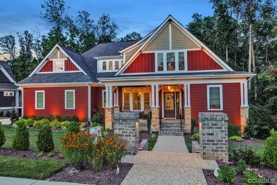 Midlothian Single Family Home For Sale: 16536 Saville Chase Road