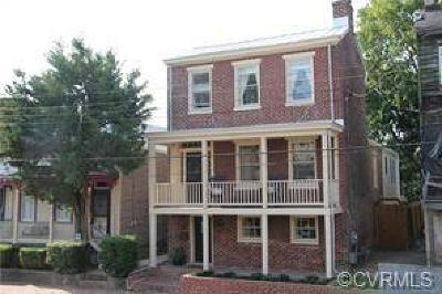 Richmond Single Family Home For Sale: 2115 M Street