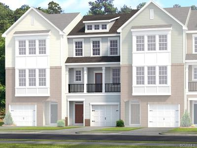 Chester Condo/Townhouse For Sale: 6137 West Stonepath Garden Drive #Lot 9