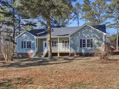 Powhatan County Single Family Home For Sale: 4700 Anderson Highway