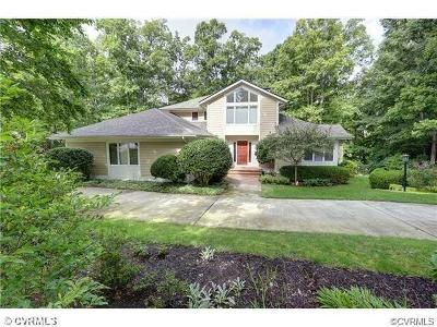 South Chesterfield Single Family Home For Sale: 20212 Oak River Court