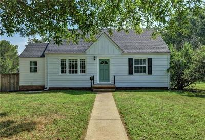 Henrico Single Family Home For Sale: 1331 Devers Road