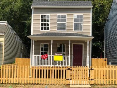 Richmond Single Family Home For Sale: 2218 Fairmount Avenue