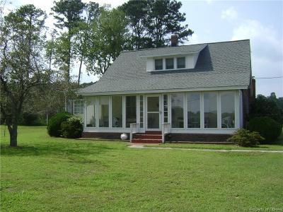 Single Family Home For Sale: 655 Flats Road