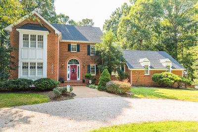 Chesterfield Single Family Home For Sale: 6450 Glebe Point Road