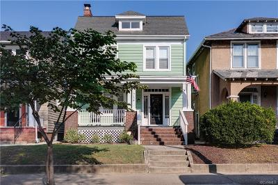 Richmond Single Family Home For Sale: 714 North 35th Street