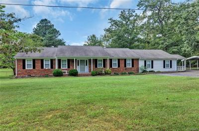 Chesterfield Single Family Home For Sale: 8700 North Spring Run Road