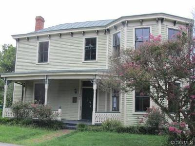 Petersburg Single Family Home For Sale: 253 High Street