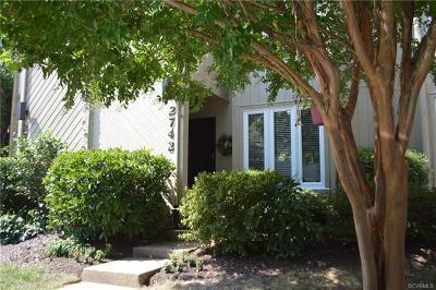 Henrico Single Family Home For Sale: 2742 Spinnaker Court
