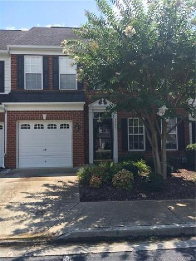 Glen Allen Condo/Townhouse For Sale: 5907 Chapel Lawn Terrace