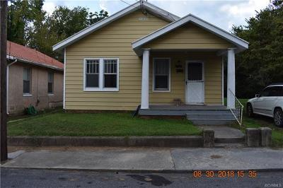 South Chesterfield Single Family Home For Sale: 21602 Pannill Street