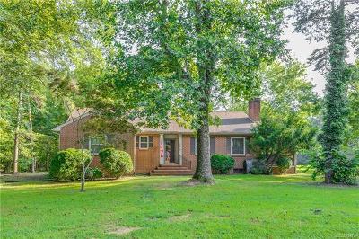 Amelia Single Family Home For Sale: 15901 Dunn Street