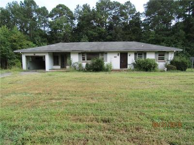 South Chesterfield Single Family Home For Sale: 11407 Reedy Branch Road