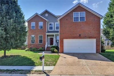 Mechanicsville Single Family Home For Sale: 7215 Battalion Drive