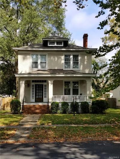 Richmond Single Family Home For Sale: 108 Overbrook Road