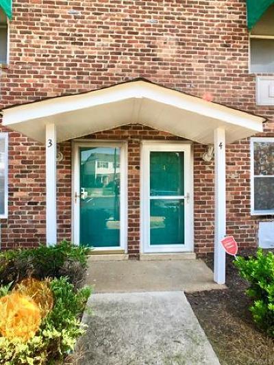 Richmond Condo/Townhouse For Sale: 3512 East Richmond Road #U3