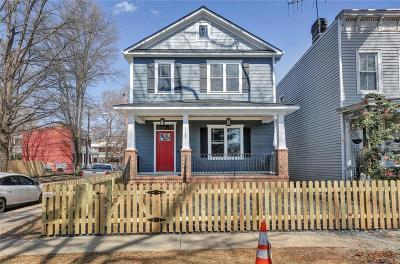 Richmond Single Family Home For Sale: 2122 Parkwood Avenue